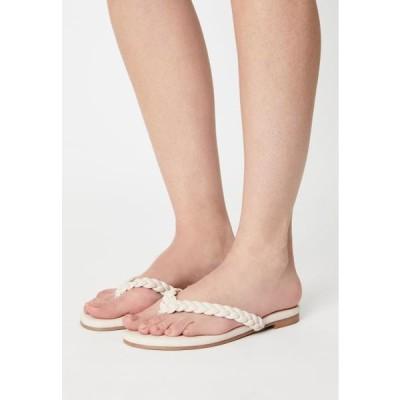 スティーブマデン レディース 靴 シューズ NIBBLE - T-bar sandals - bone