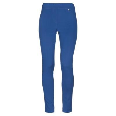 MARIELLA LANDI パンツ ブルー 42 ポリエステル 96% / ポリウレタン 4% パンツ