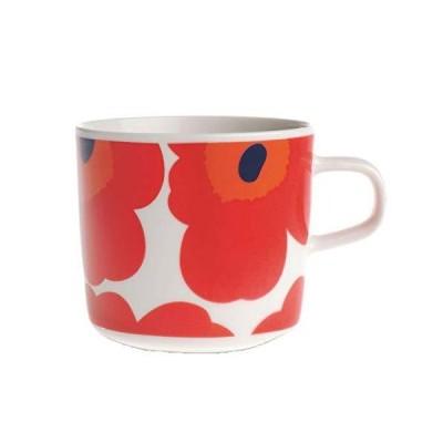 marimekko/マリメッコ コーヒーカップ UNIKKO/RED