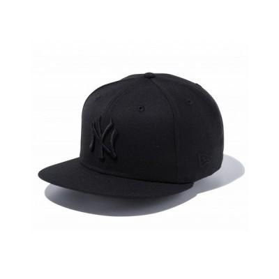 ニューエラ(NEW ERA) キャップ 9FIFTY ニューヨーク・ヤンキース ブラック × ブラック 12336623 (メンズ)