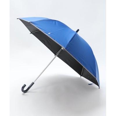 MOONBAT / 通学用晴雨兼用こども傘 無地×ストライプグログラン KIDS ファッション雑貨 > 長傘