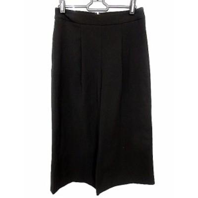 【中古】ビーシービージーマックスアズリア BCBGMAXAZRIA パンツ ガウチョ スカーチョ 0 黒 ブラック /AAO50 レディース