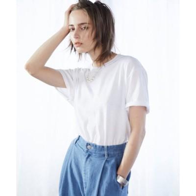 tシャツ Tシャツ 【FRUIT OF THE LOOM】レディース フルーツオブザルーム オーバーサイズ クルーネック 半袖 Tシャツ