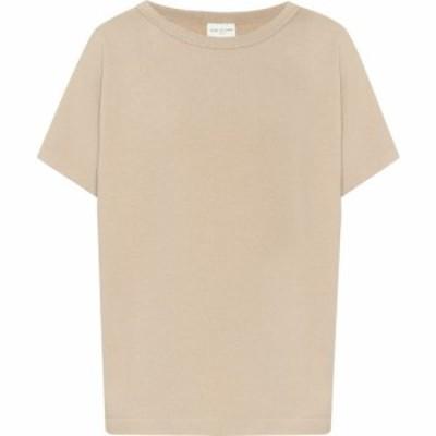 ドリス ヴァン ノッテン Dries Van Noten レディース 長袖Tシャツ トップス cotton-jersey t-shirt Sand