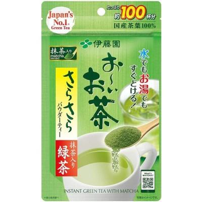 伊藤園 おーいお茶 抹茶入りさらさら緑茶 80g*
