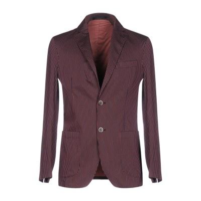 CORNELIANI ID テーラードジャケット ガーネット 50 コットン 72% / ナイロン 25% / ポリウレタン 3% テーラードジャケ