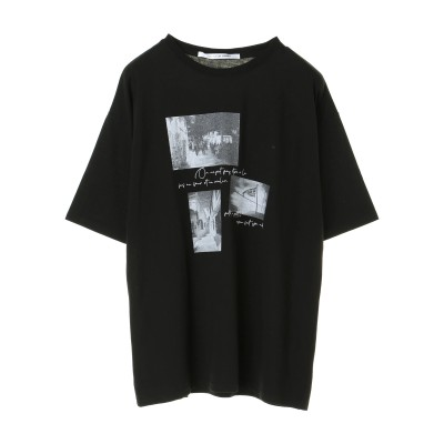 ・RAY CASSIN フォト転写Tシャツチュニック