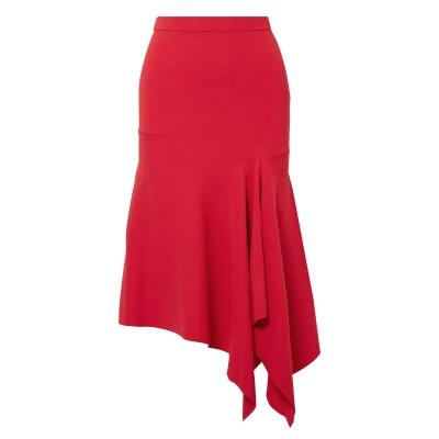 GREY JASON WU ひざ丈スカート レッド XS レーヨン 65% / ナイロン 35% ひざ丈スカート
