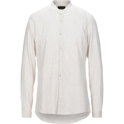 カルロピニャテッリ CARLO PIGNATELLI メンズ シャツ トップス Checked Shirt Beige