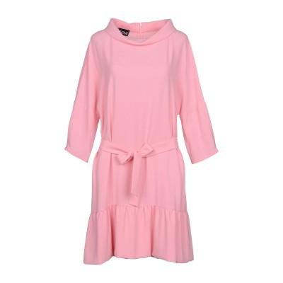 BOUTIQUE MOSCHINO ミニワンピース&ドレス ピンク 42 トリアセテート 82% / ポリエステル 18% ミニワンピース&ドレス