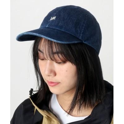 SITRY / 【Lee】 ミニロゴ刺繍デニムキャップ MEN 帽子 > キャップ