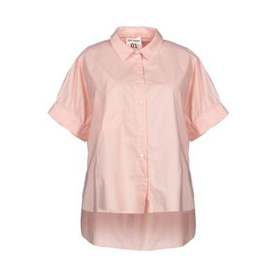 セミクチュール SEMICOUTURE シャツ ライトピンク 40 コットン 100% シャツ