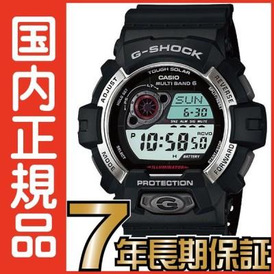 G-SHOCK Gショック GW-8900-1JF 電波時計 タフソーラー 電波ソーラー カシオ 腕時計 ブラック 電波腕時計