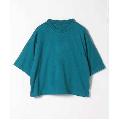 tシャツ Tシャツ ワイドスリーブハイネックTシャツ