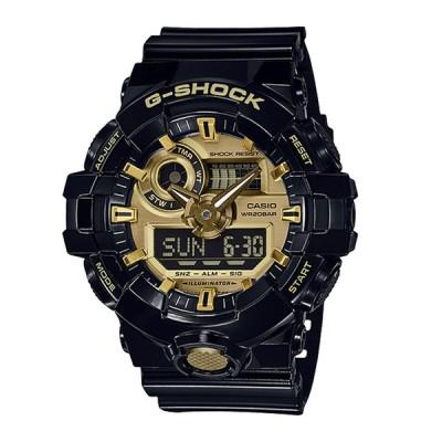 ジーショック G-SHOCK 腕時計 700シリーズ アナデジMウォッチ GA-710GB-1AJFギフトラッピング無料