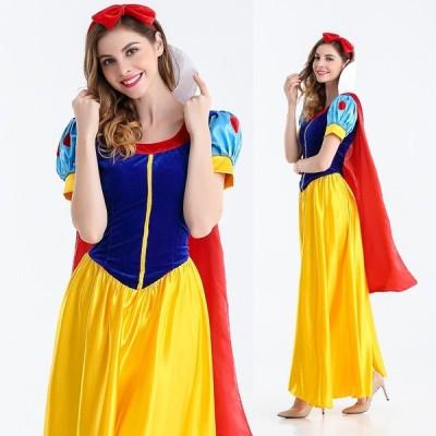 マント付き 白雪姫 コスプレ衣装