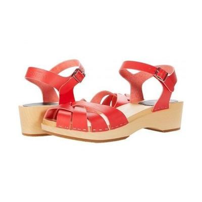 Swedish Hasbeens スウェディッシュハズビーンズ レディース 女性用 シューズ 靴 ヒール Magdalena - Red