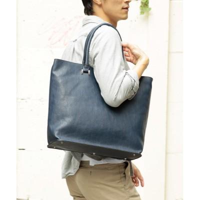 UNBILLION / オティアス Otias/アンティークレザータイプ合成皮革トートバッグ MEN バッグ > トートバッグ