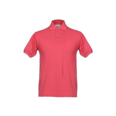 ラコステ LACOSTE ポロシャツ フューシャ 2 コットン 100% ポロシャツ