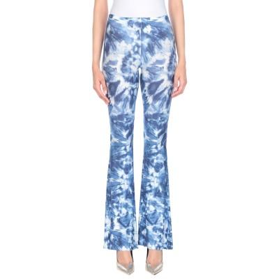 BLACK CORAL パンツ ブルー one size レーヨン 94% / ポリウレタン 6% パンツ