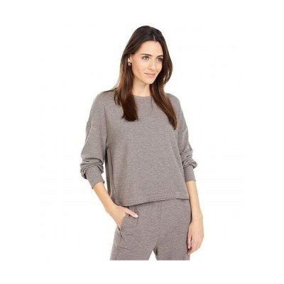 Lucky Brand ラッキーブランド レディース 女性用 ファッション Tシャツ Cloud Fleece Top - Cocoa Brown