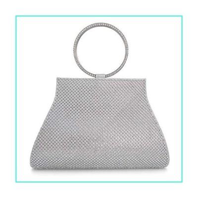 【新品】Crystal Clutch for Women Wrist Evening Bag(並行輸入品)
