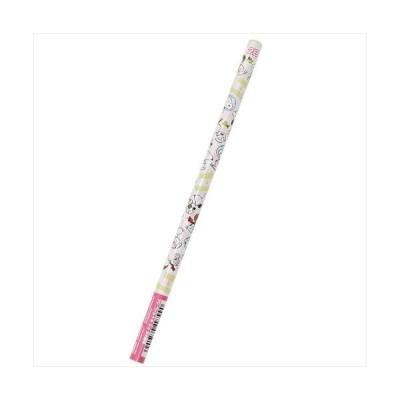 スヌーピー パール丸軸えんぴつ2B 5007640 ピーナッツ 鉛筆 キャラクター グッズ サンスター文具 日本製 筆記用具