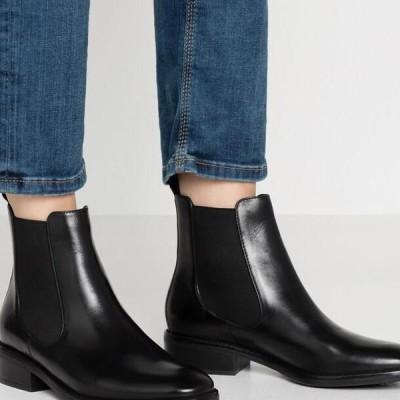 アンナフィールド レディース 靴 シューズ LEATHER CHELSEAS - Classic ankle boots - black