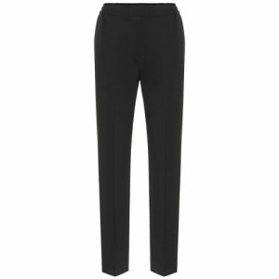 エトロ Etro レディース ボトムス・パンツ Stretch-wool high-rise pants