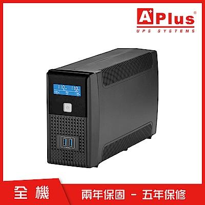特優Aplus 在線互動式UPS Plus1L-US600N(600VA/360W)