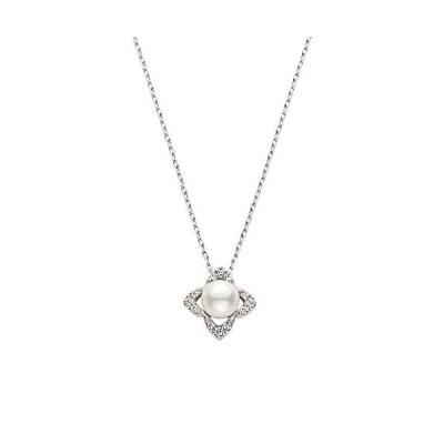 ヴァンドーム青山 VENDOME AOYAMA PT950 アコヤパール ダイヤモンド ネックレス レディース 女性 APVN194840P