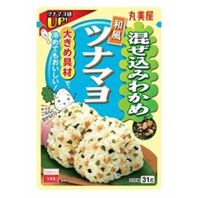 丸美屋食品工業 混ぜ込みわかめ (和風ツナマヨ) 31g ×10袋