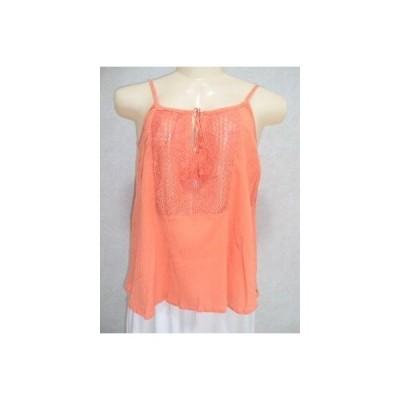 リップカール トップス ブラウス RIP CURL サーフ REコレクション TANK オレンジ TOP CAMI Tシャツ スモール 11-119 RET39.50
