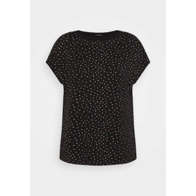 オーパス Tシャツ レディース トップス SOWERA DOT - Print T-shirt - black