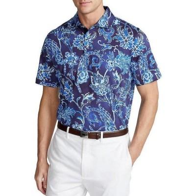 ラルフローレン メンズ シャツ トップス Golf Classic-Fit Printed Jersey Short-Sleeve Polo Shirt