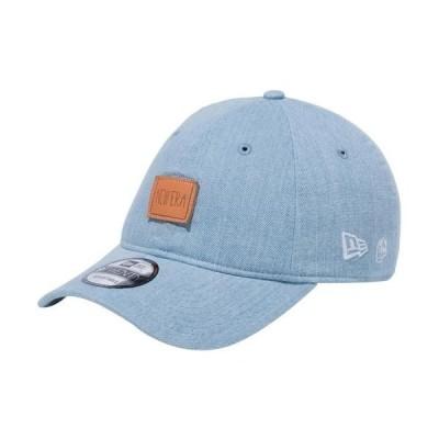 ニューエラ(NEW ERA) キャップ 9TWENTY AI TAKAHASHI 920 高橋愛 イージースナップ レザーパッチ ウォッシュドデニム 12653853 帽子 カジュアル ストリート