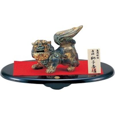 吉祥獅子 香炉(敷板菊紋入) (902-198)