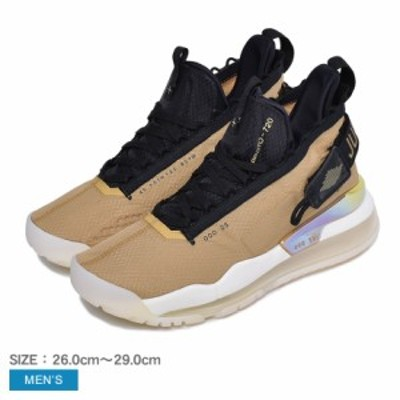 夏新作 ナイキ スニーカー メンズ ジョーダン プロト マックス 720 ベージュ ブラック 黒 NIKE BQ6623 靴 シューズ ハイカット 人気 定番