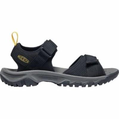 キーン Keen メンズ サンダル オープントゥ シューズ・靴 KEEN Targhee III Open Toe H2 Sandal Black/Yellow