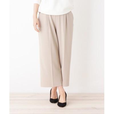 OPAQUE.CLIP / 【洗える・34(SS)、42(LL)WEB限定サイズ】シアワイドパンツ WOMEN パンツ > パンツ