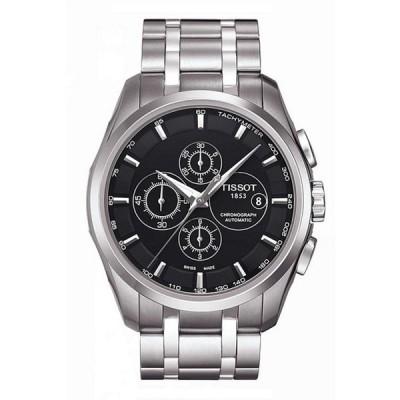 ティソット メンズ 腕時計 アクセサリー T-Classic Couturier Automatic Chronograph & Date Watch