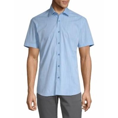 ベルティゴ メンズ カジュアル ボタンダウンシャツ Chaz Cotton Button-Down Shirt
