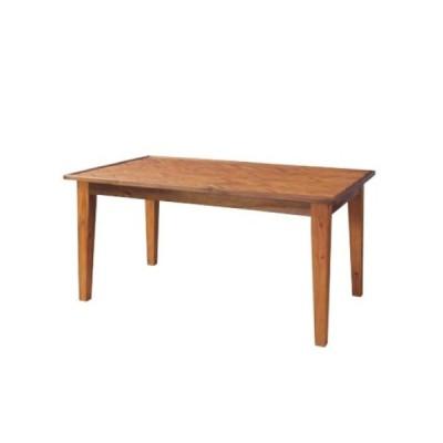 ダイニングテーブル 幅150cm ヘリンボーン アカシア 木製テーブル 角型テーブル 天然木テーブル 食卓 ナチュラル 北欧 おしゃれ GT-873