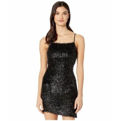 BCBジェネレーション ワンピース トップス レディース Fuzzy Mini Dress Black