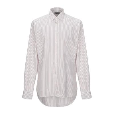 ベヴィラクア BEVILACQUA シャツ レッド XL コットン 100% シャツ