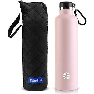 FJbottle 1リットル 水筒 ステンレスボトル 真空断熱 保温保冷 まほうびん 直飲み スポー
