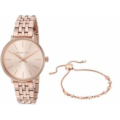 腕時計 マイケルコース レディース Michael Kors Women's Pyper Quartz Watch with Stainless Steel S