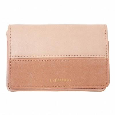 Lammin カードケース ピンク おしゃれ かわいい LMN-202