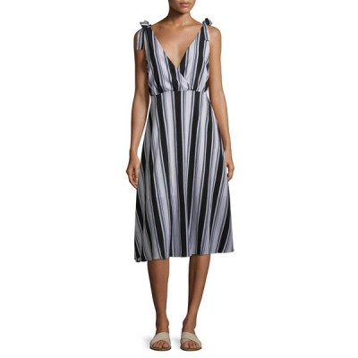 アリアンドジェイ ワンピース トップス レディース Ali & Jay Stripe Midi Dress black multicolor