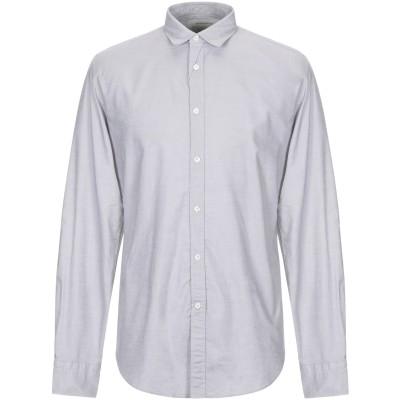 マウロ グリフォーニ MAURO GRIFONI シャツ ライトグレー 42 コットン 100% シャツ